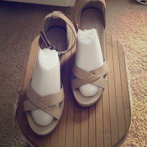 Loft wedge sandals